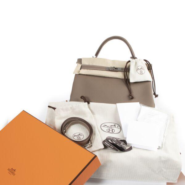 Hermès Kelly 32 Etoupe Togo PHW