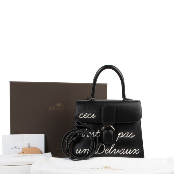 "As New Delvaux L'Humour Brillant MM "" Limited Edition"