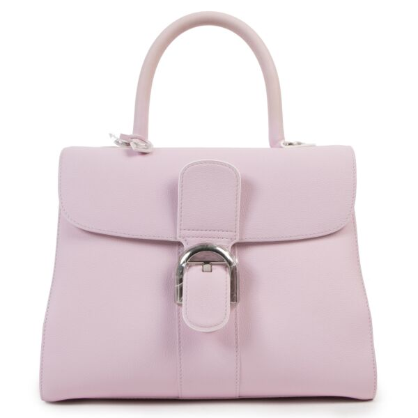 Delvaux Brillant Pink Nakuru MM Rodéo for the best price at Labellov secondhand luxury