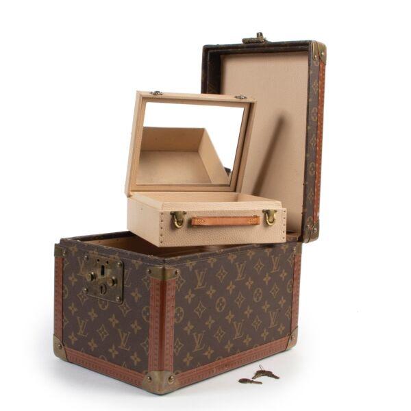 Louis Vuitton Boite Flacons Monogram Cosmetic Trunk