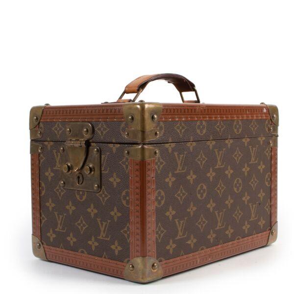 shop online at Labellov for authentic vintage Louis Vuitton Boite Flacons Monogram Cosmetic travel Trunk
