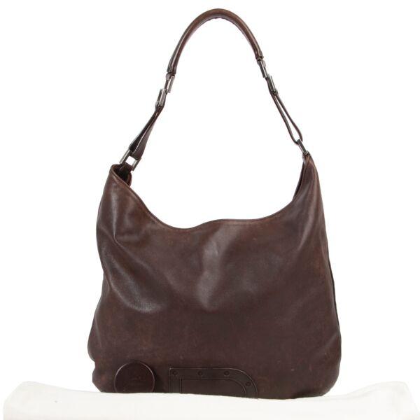 Delvaux Brown Le Louise Tote Shoulder Bag