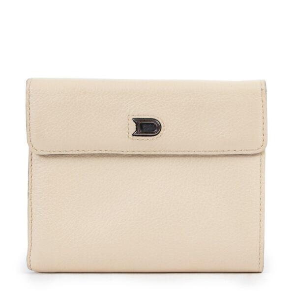 Delvaux White Wallet