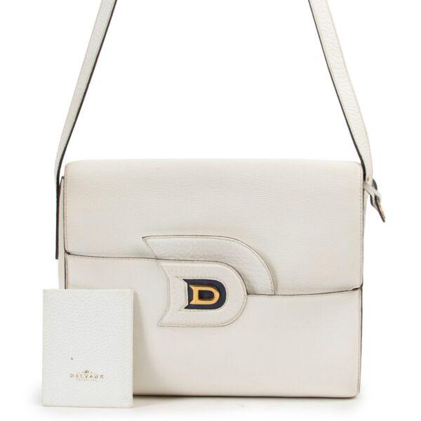 Delvaux White Crossbody