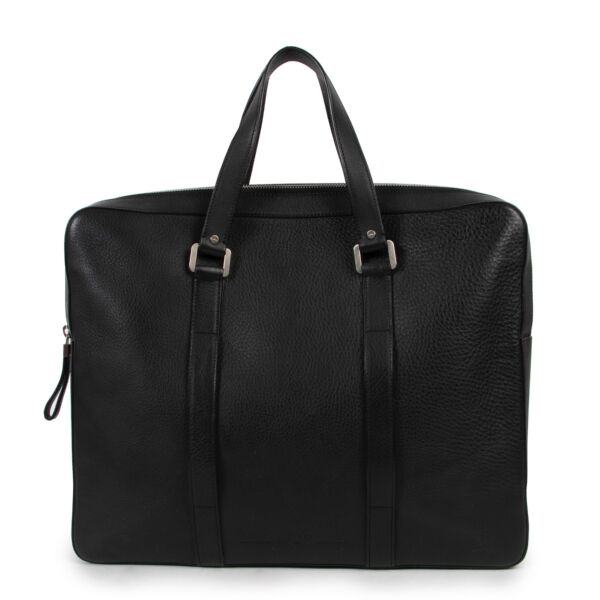 Delvaux Black Briefcase online for the best price