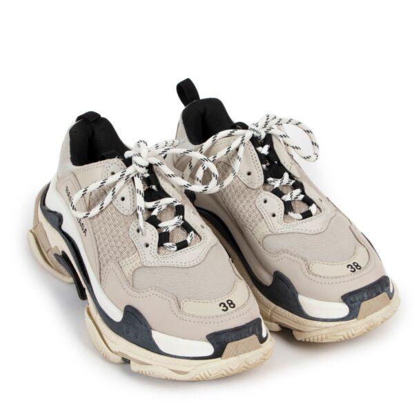 Balenciaga Triple S Sneakers - size 38