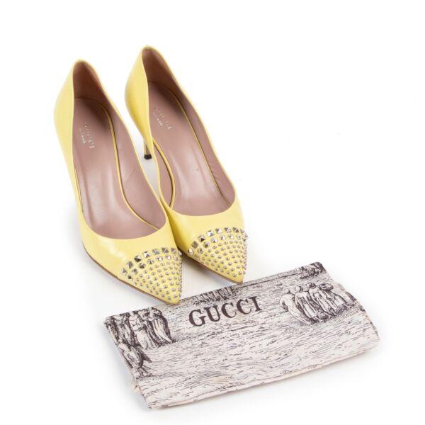 Gucci Yellow Pumps - Size 38,5
