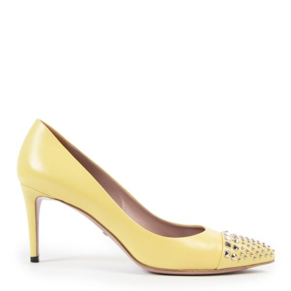 Shop safe online at Labellov in Antwerp these 100% authentic second hand  Gucci Yellow Pumps - Size 38,5