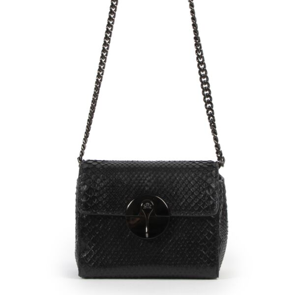 Lebeau-Courally La Duchesse Python Black