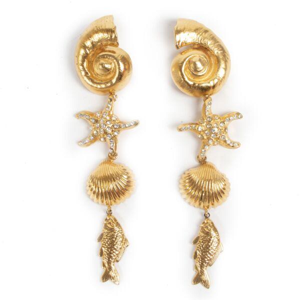 Rena Lange Seashell Earrings