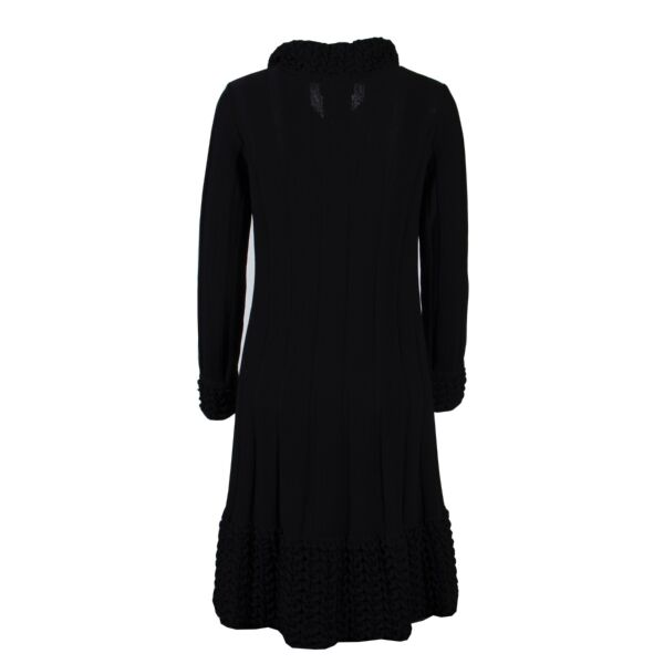 Chanel Black Wool Jacket - FR Size 36