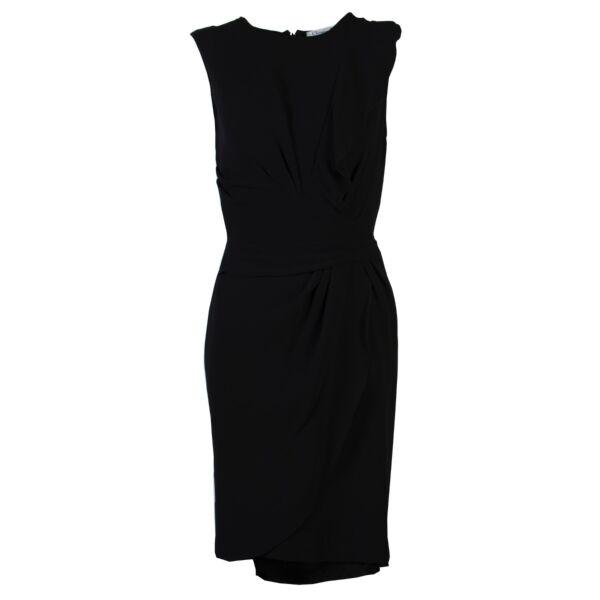 Christian dior silk dress size 34