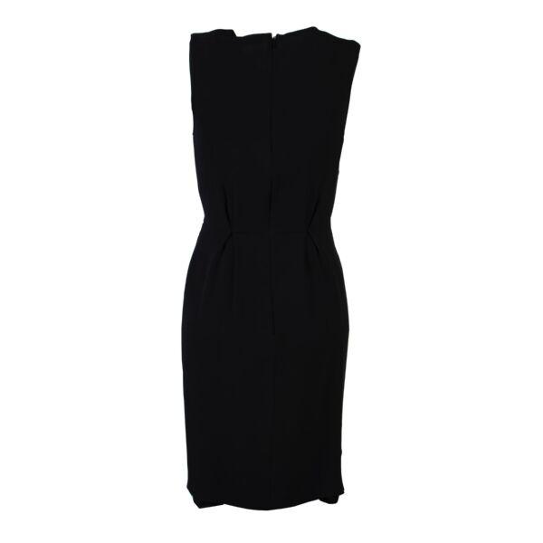 Christian Dior Black Silk Dress - Size FR 36