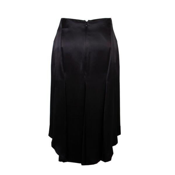Hermès Black Silk Skirt - SizeFR 38