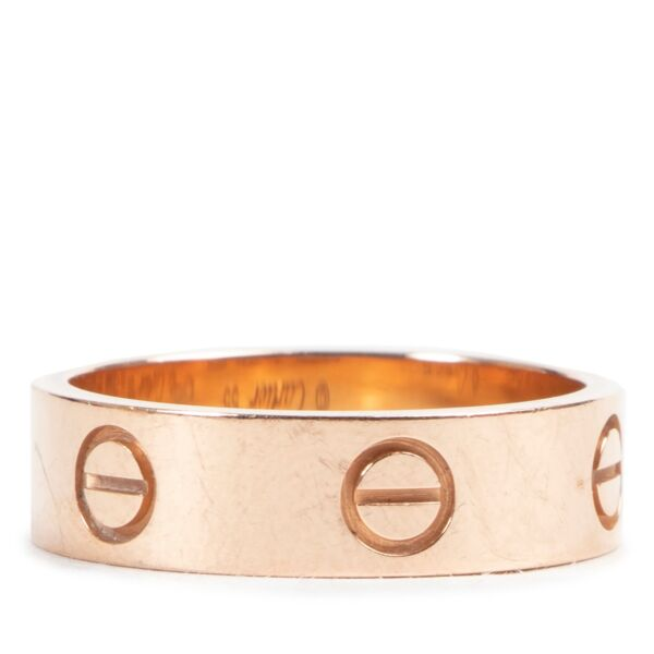 Cartier Rose Gold Love Ring- size 55