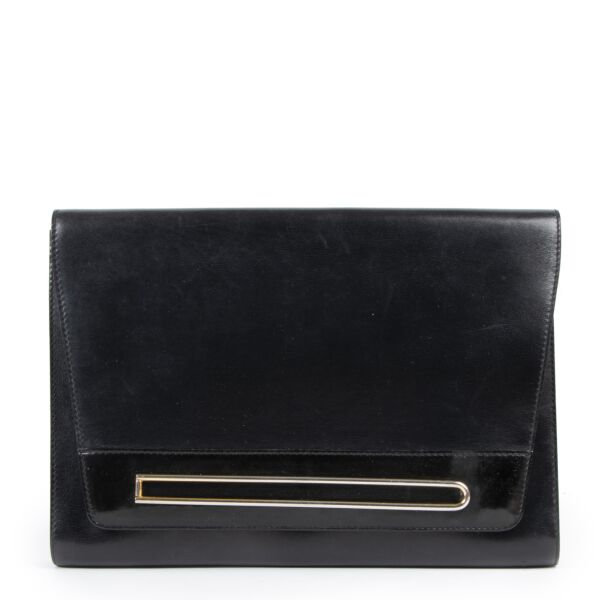 Delvaux Black Clutch Bag for the best price at labellov