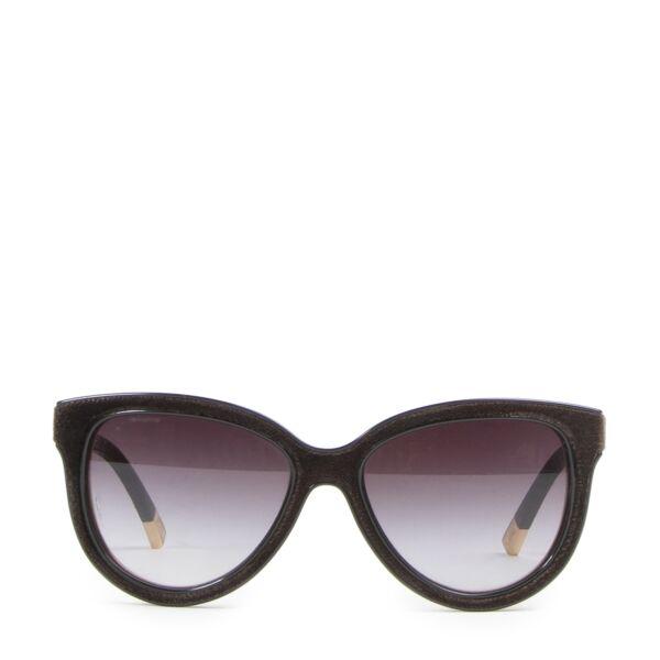 Giorgio Armani Black Velvet Sunglasses