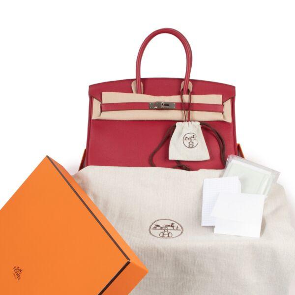 Hermès Birkin 35 cm Rubis Togo PHW