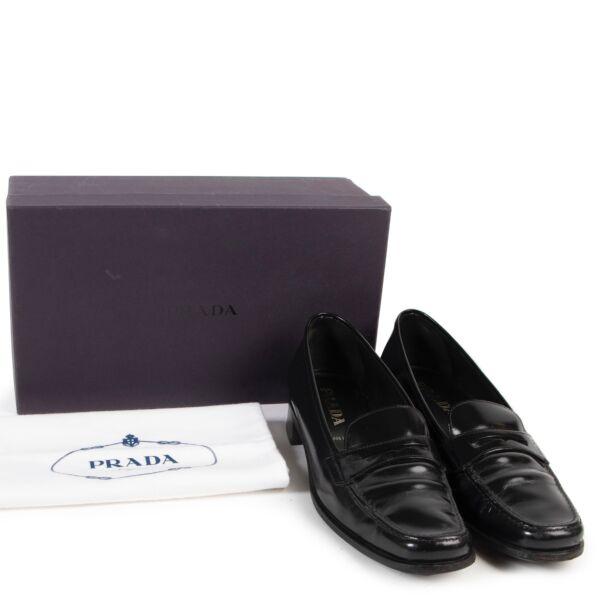 Prada Black Loafers - Size 39,5