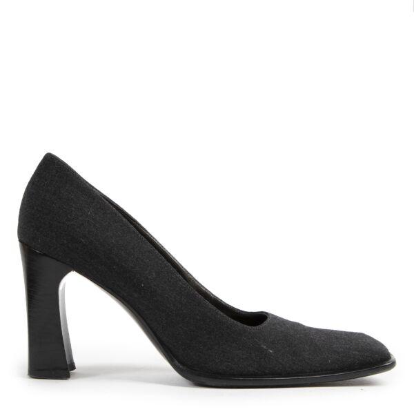 Authentieke Tweedehands Sergio Rossi Black Pumps - Size 38 juiste prijs veilig online shoppen luxe merken webshop winkelen Antwerpen België mode fashion