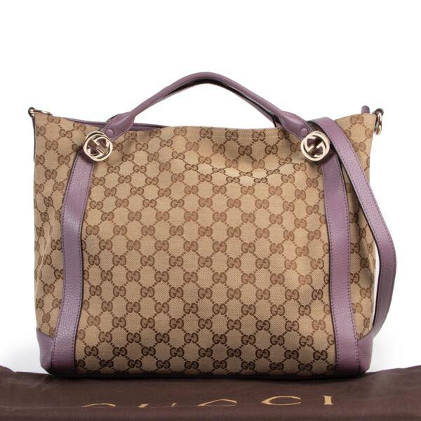 Gucci Monogram GG Canvas 2way Shoulder bag