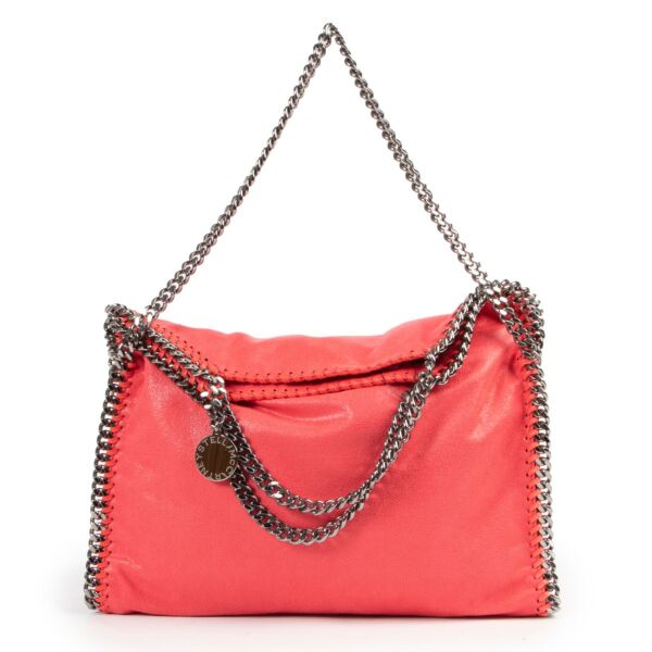 Stella Mc Cartney Red Falabella Shoulder Bag