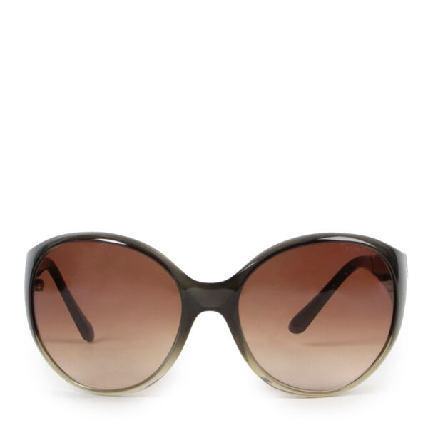 Shop safe online authentic Chanel Dark Grey Sunglasses at the right price.