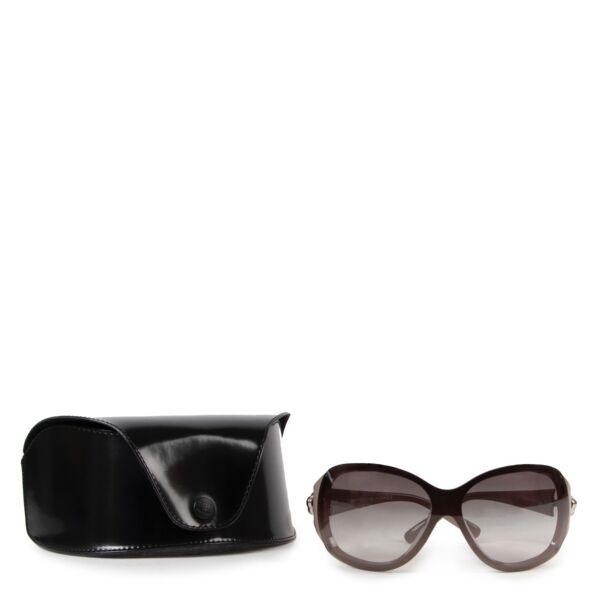Chanel Grey Acetate Sunglasses