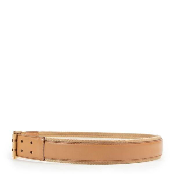 Gucci Beige Belt - size 80