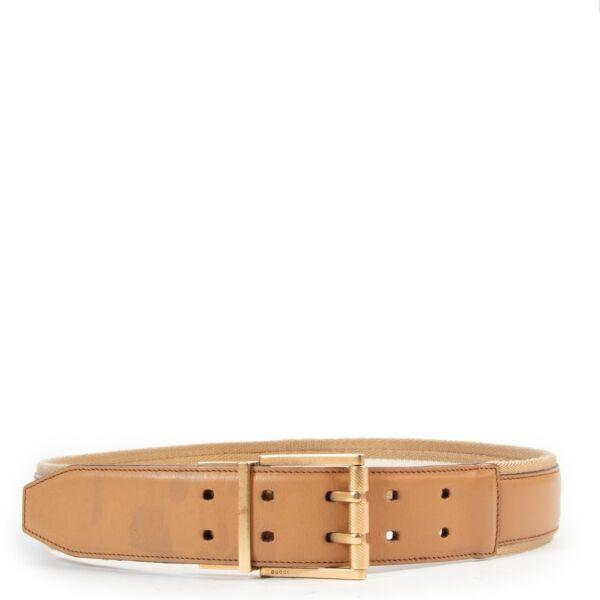 Vintage preloved belt on Labellov by Gucci
