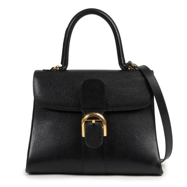 Authentieke tweedehands Delvaux Brillant vintage LabelLOV webshop veilig online winkelen designer luxe Antwerpen België mode fashion