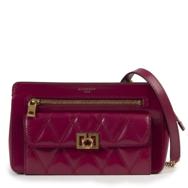 Givenchy Fuschia Pink Crossbody Bag for the best price at Labellov