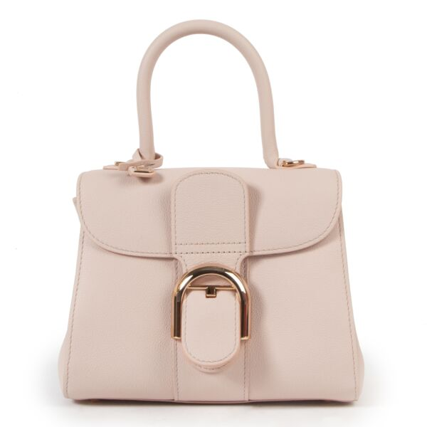 Delvaux Brillant Mini Pastel Pink PM bag for the best price