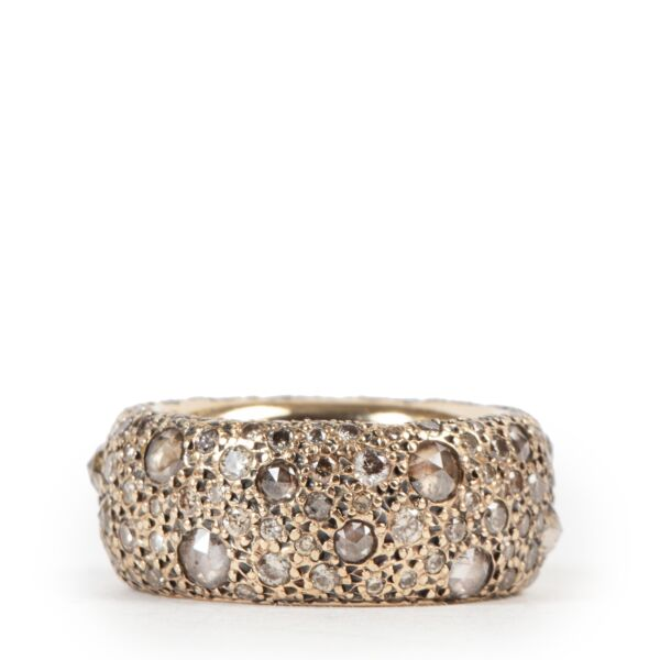 Pomellato Tango Two Tone Diamond Ring