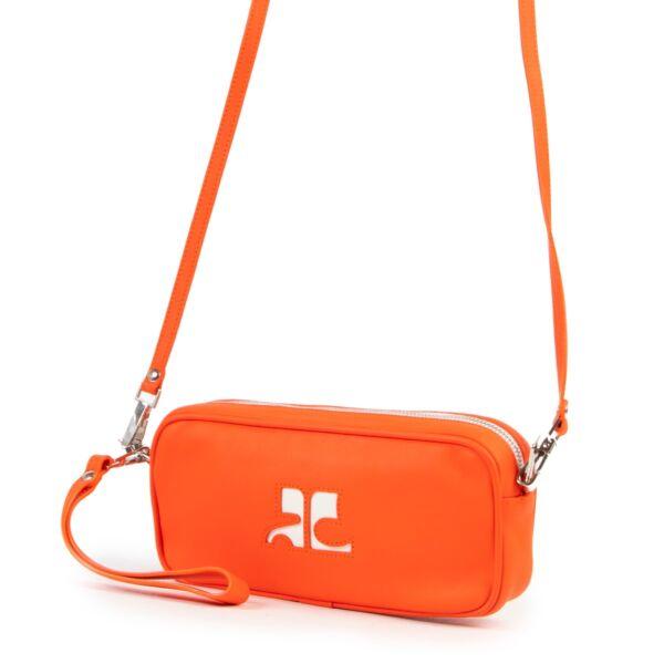 Courrèges Orange Crossbody Bag