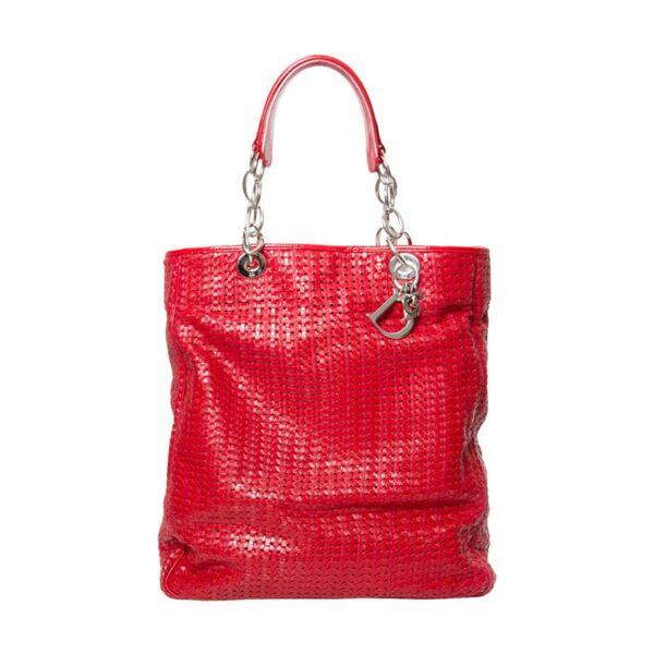 tweedehands vintage Dior handtas online bij e shop labellov