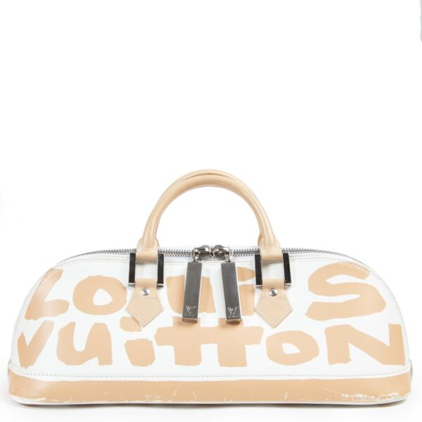 Louis Vuitton Limited Edition Stephen Sprouse Grafitti Alma East/West