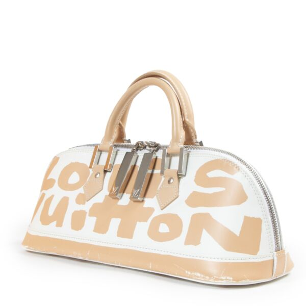 Louis Vuitton Limited Edition Stephen Sprouse Graffiti Alma East/West