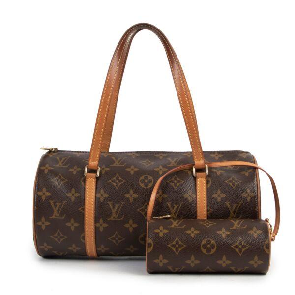 Louis Vuitton Monogram Canvas Papillon Shoulder Bag