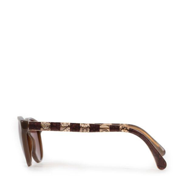 Chanel Brown Sunglasses