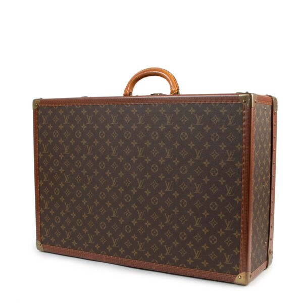 Louis Vuitton Monogram Alzer 65 Suitcase Travel Bag