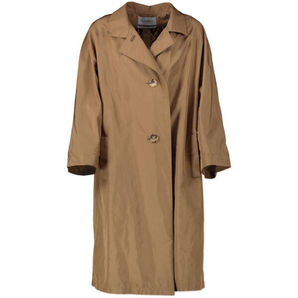 Yves Saint Laurent A-Line Coat