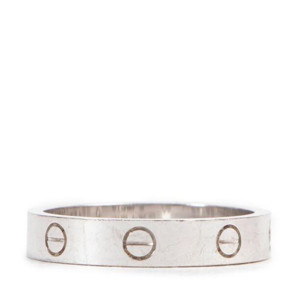 Cartier Love wedding Band Ring 1 Diamond - size 58