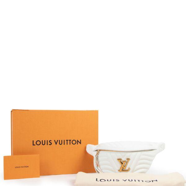 Louis Vuitton White New Wave Belt Bag