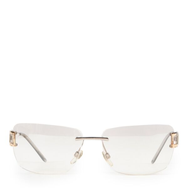 Shop safe online authentic second hand Bulgari Silver Rimeless Glasses at Labellov.com