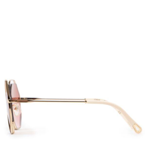Chloé Pink Poppy Petite Sunglasses