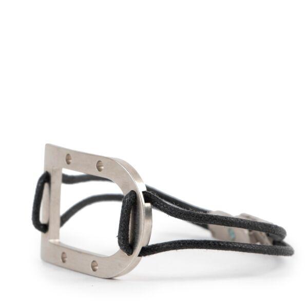 Delvaux Brown Metal Bracelet