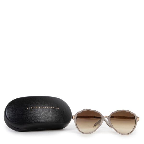 Victoria Beckham Brown Sunglasses
