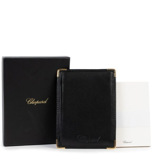 Chopard Black Leather Notebook