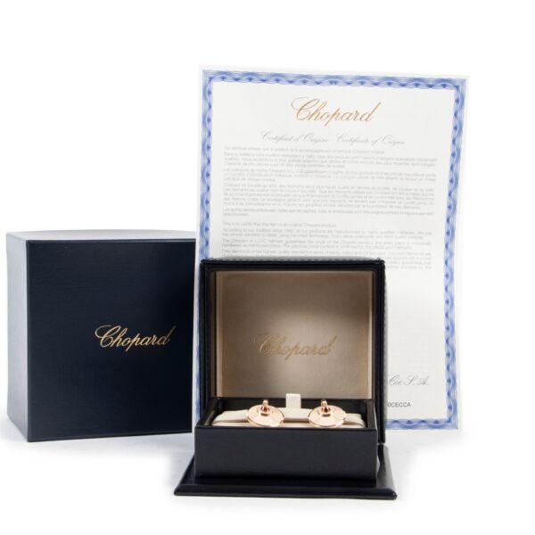 Chopard 18k Rose Gold Diamond Xtravaganza Earrings